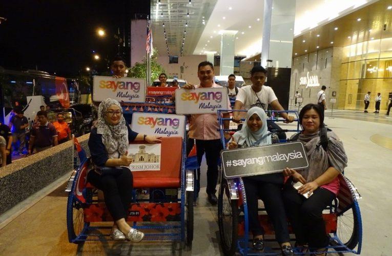 Johor Bahru City Trishaw Ride
