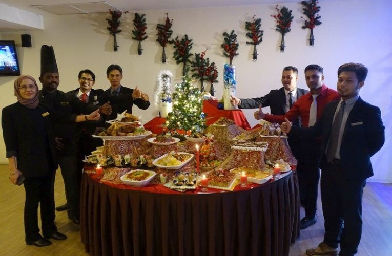 Tower Regency Hotel's Festive X'mas Eve Buffet Dinner