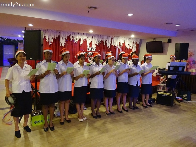 1. carolling by Salvation Army Home