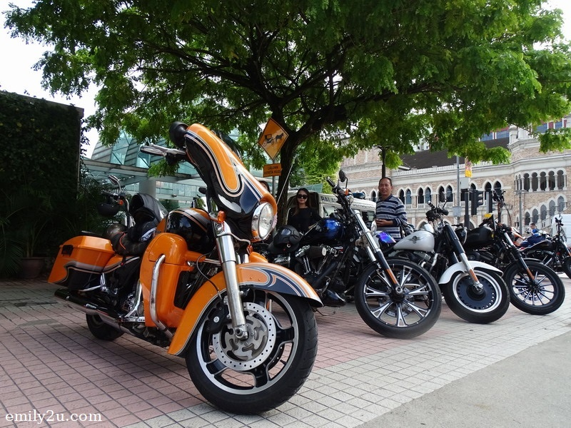 11. Harley-Davidson motorcycles belonging to members of Kingz MG Malaysia