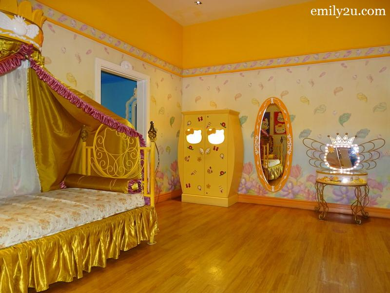 11. Hello Kitty House bedroom