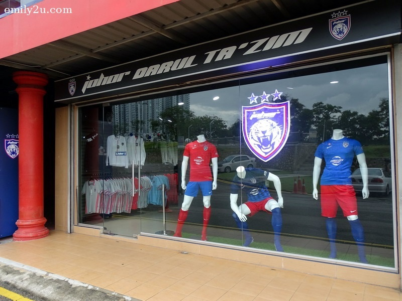 11. JOHOR Southern Tigers official merchandise store