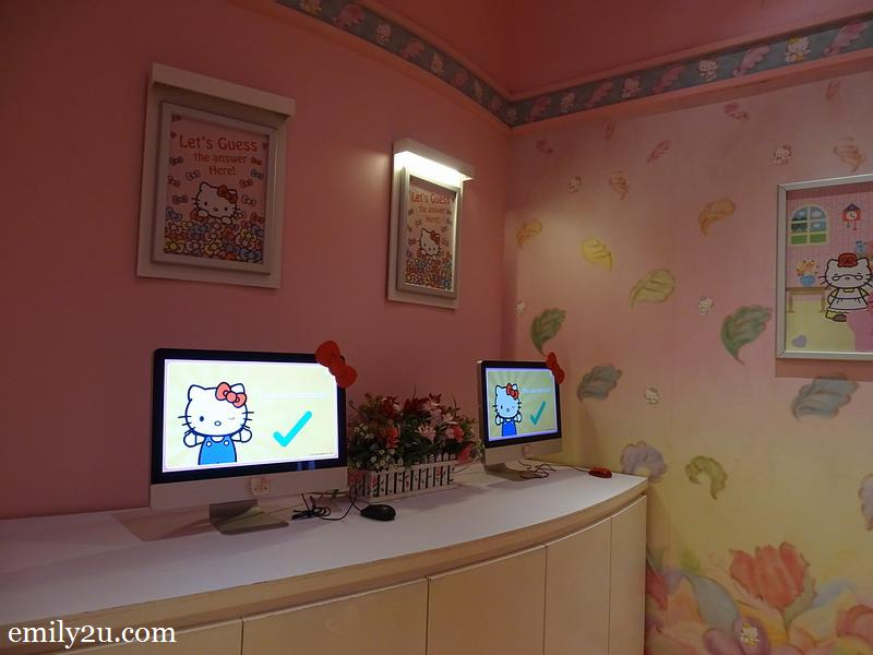 13. Hello Kitty House study room