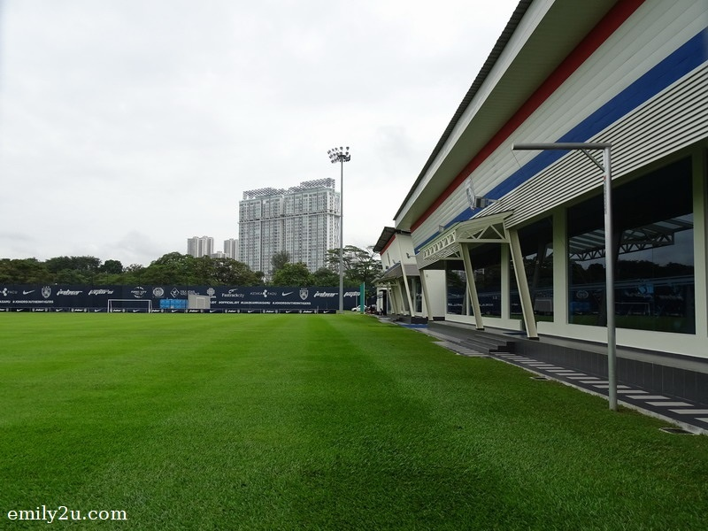 14. JDT's closed-door stadium for secret training