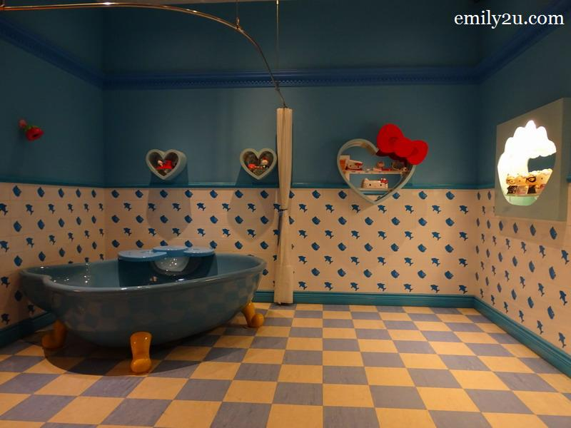 15. Hello Kitty House bathroom