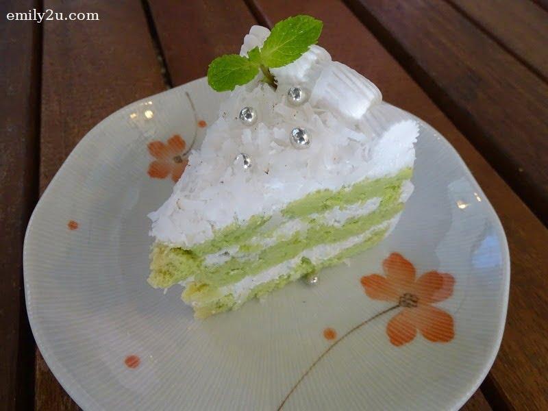 15. Pandan Chiffon Cake