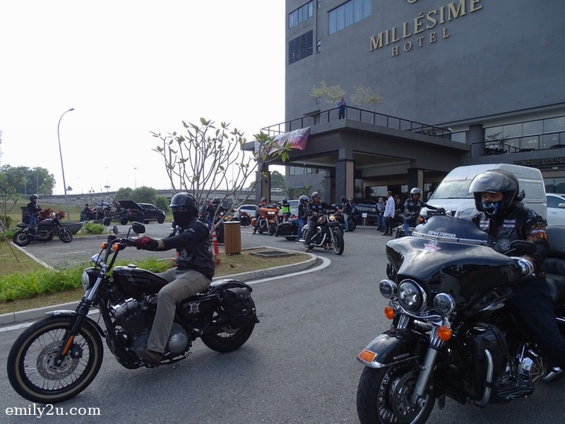 19. checking out from Millésimé Hotel, Johor