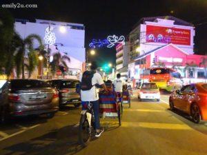 2 Johor City trishaw ride