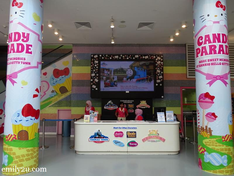 2. ticketing counter