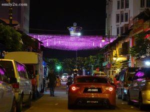 3 Johor City trishaw ride