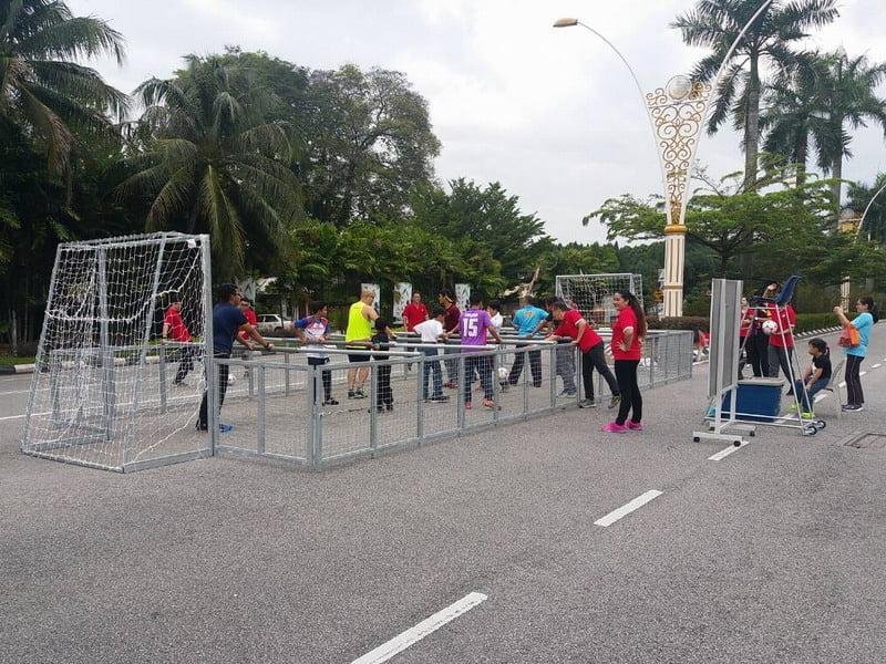 4. street soccer