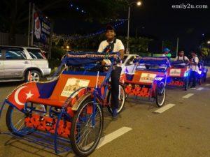 4 Johor City trishaw ride