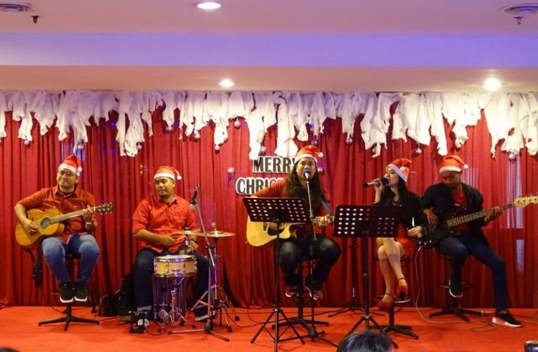 Celebrating Christmas at Tower Regency Hotel, Ipoh