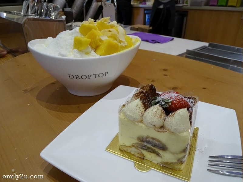 5. Secret Icetop (Mango) with Tiramisu (R)