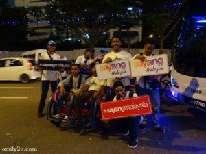 5 Johor City trishaw ride