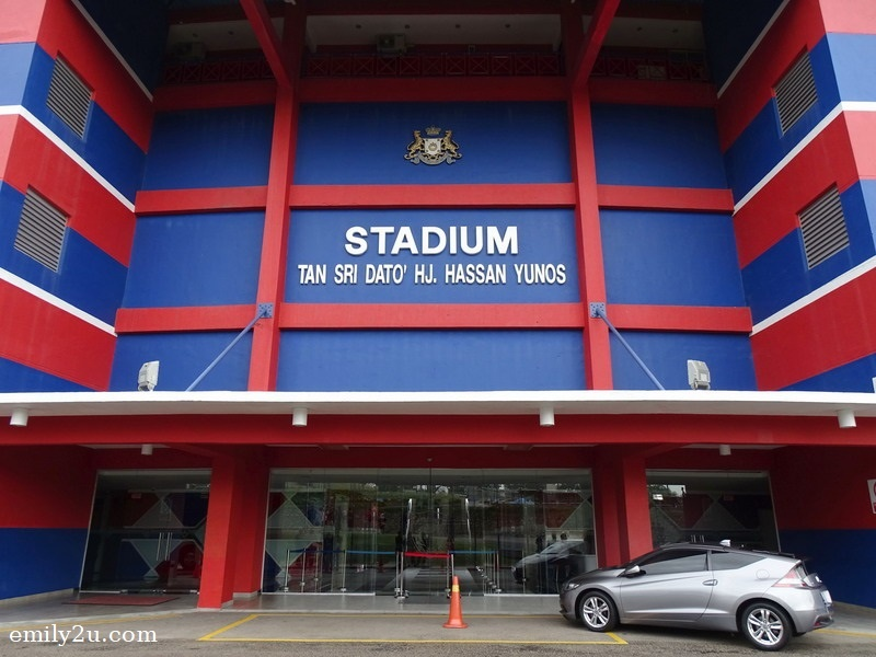 5. entrance of Larkin Stadium (Tan Sri Dato' Haji Hassan Yunos Stadium)