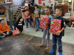 5 receiving gifts