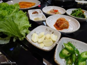 5 side dishes