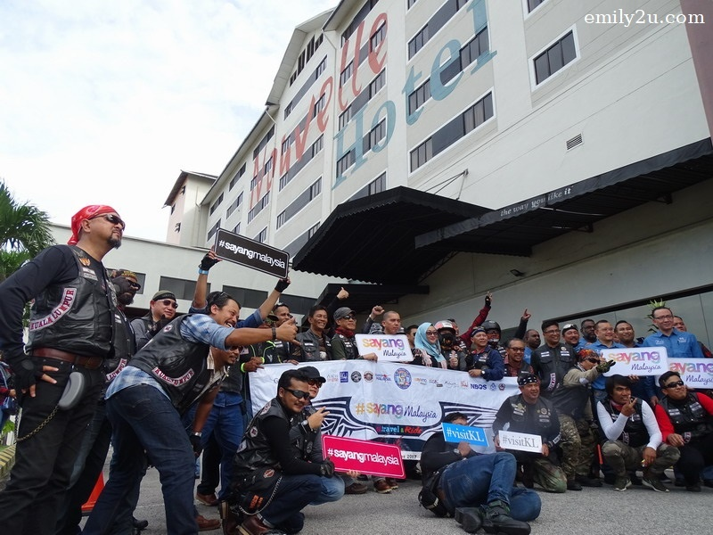 6. a stop at Nouvelle Hotel Kuala Lumpur, one of the sponsors of the ride