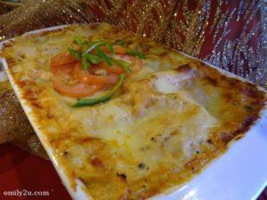 6 Salmon Lasagna
