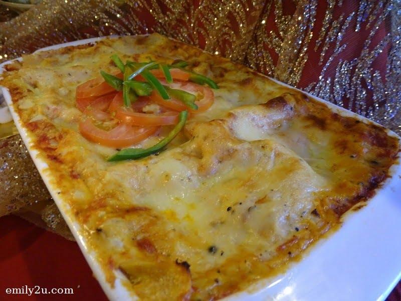 6. Salmon Lasagna