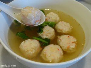 6 lobster balls