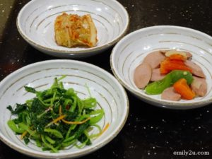 6 side dishes