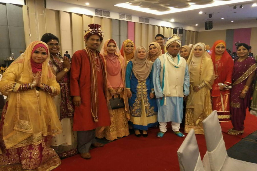 7. Ipoh City Mayor Datuk Zamri Man is a thorn among the roses