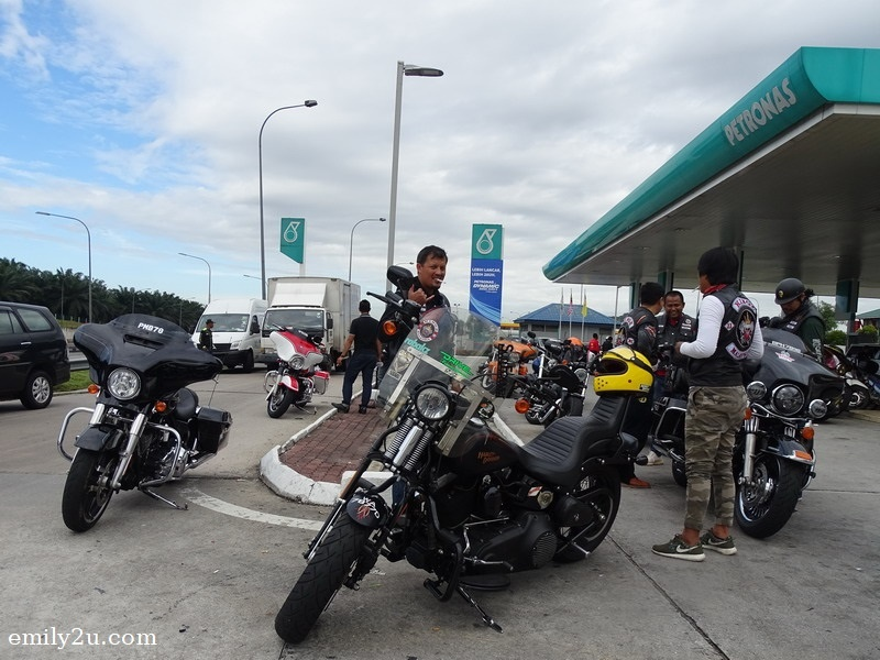 7. fuel stop at Petronas