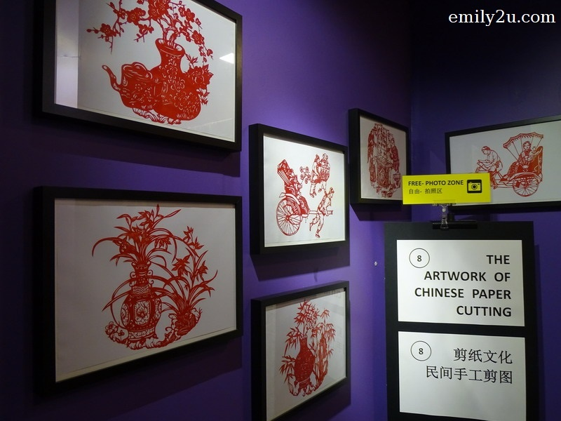 8. Chinese paper-cutting art
