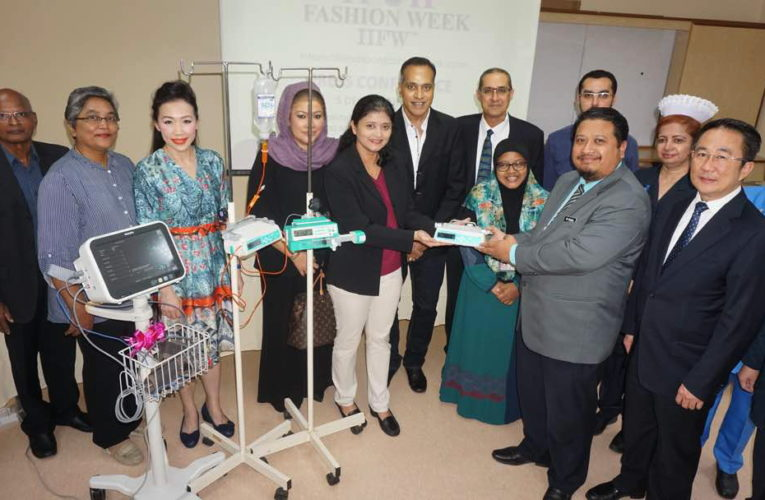 HRPB Paediatric Care Unit Receives Medical Equipment from IIFW™ 17