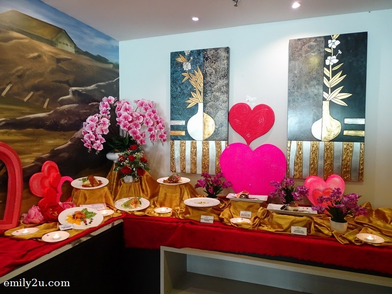1. Valentine's Day menu preview at Palong Coffee House