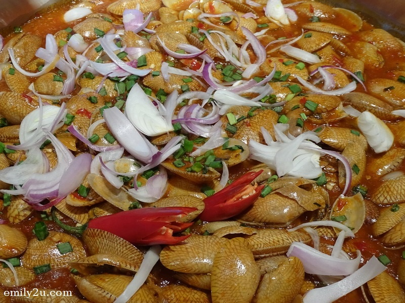11. ginger with chilli clams