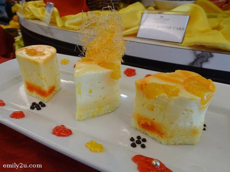 15. Orange Mousse Cake