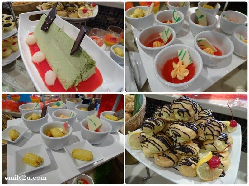17. dessert choices