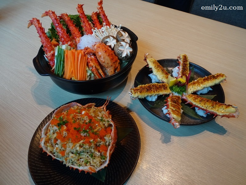 17. Taraba Gani (Hokkaido King Crab with three cooking methods)