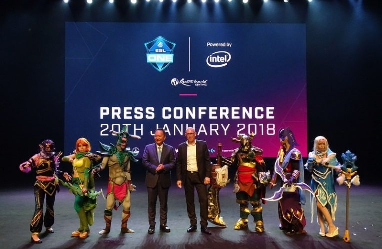 Press Conference: ESL One Genting 2018