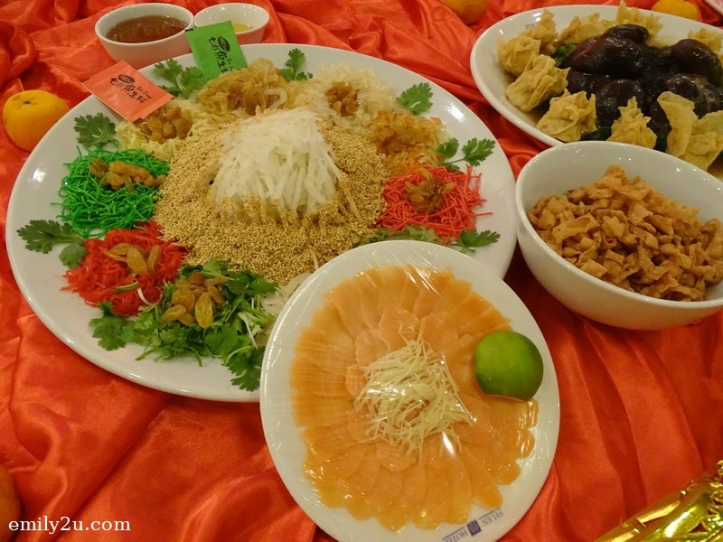2. Menu B -  Prosperity Salmon Yee Sang
