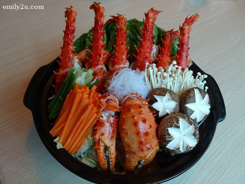 20. King Crab Steam Boat