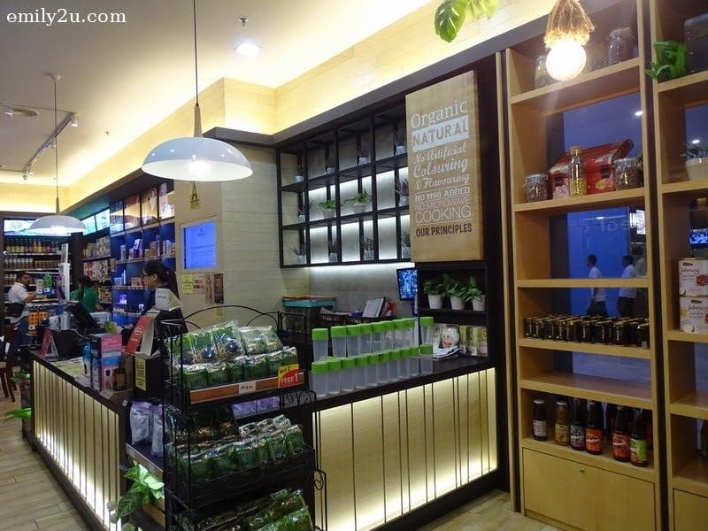 3. cashier counter
