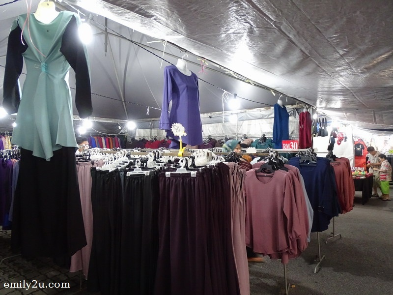 3. clothing stall