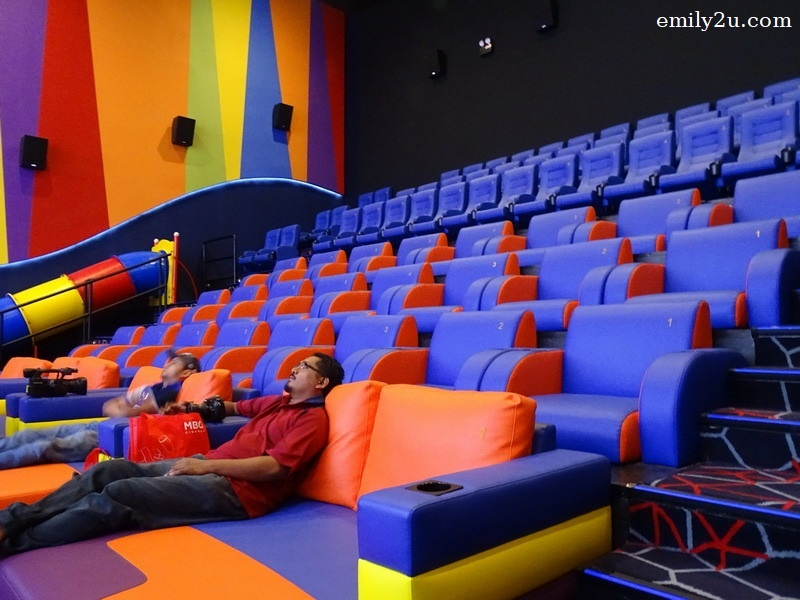 6. colourful seats