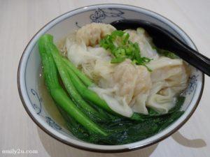 6 Scallop Wanton Noodles in Soup