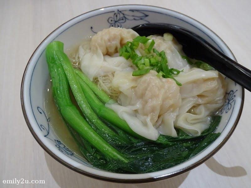 6. scallop wanton noodles in soup