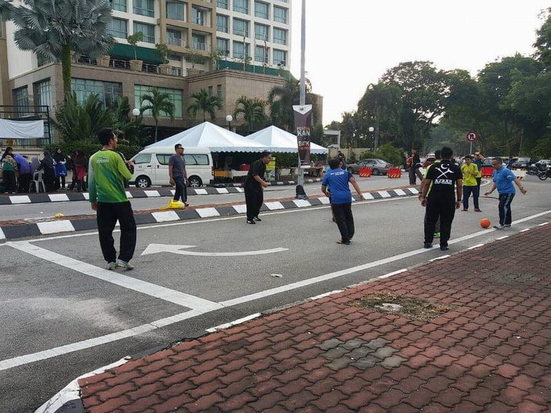7. street soccer