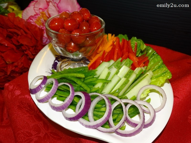 7. Assorted Fresh Salad