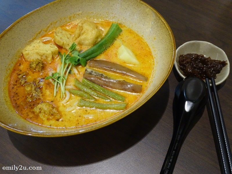 8. BMS Soy Milk Curry Laksa with Handmade Noodles