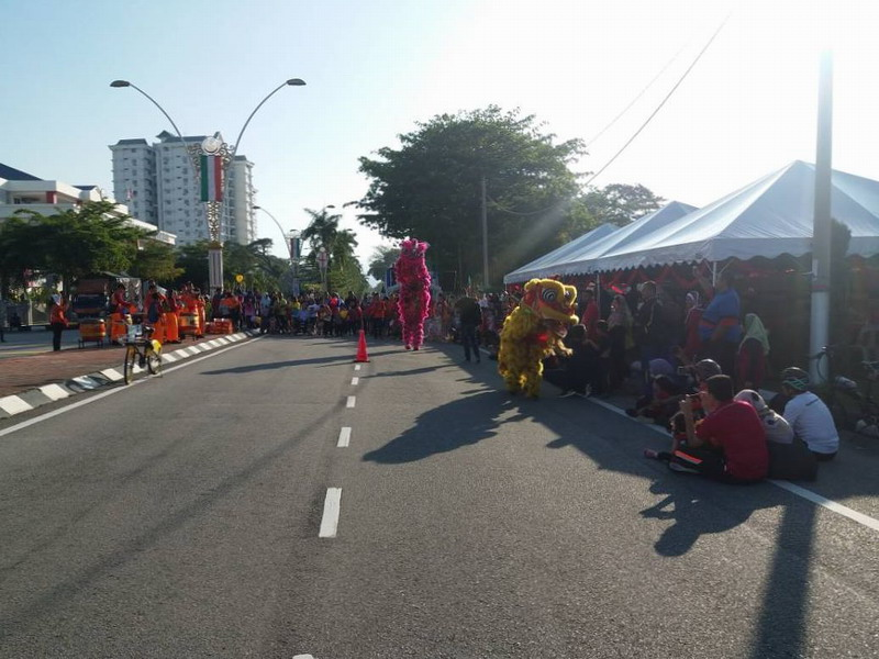 1. Ipoh Car-Free Day: Chines New Year Edition