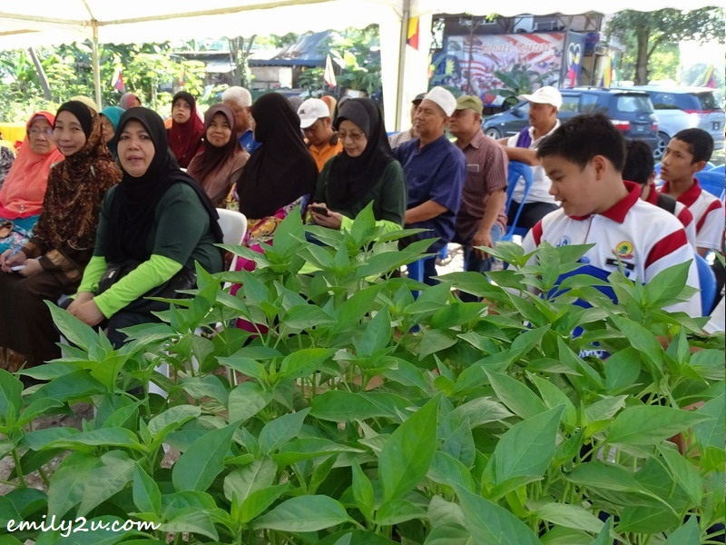 1. Putrajaya Urban Farming workshop for students and teachers