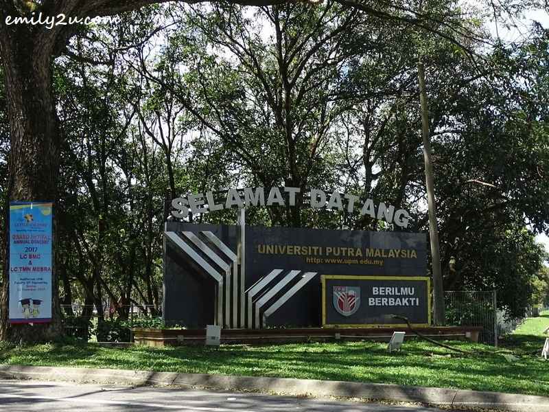 1. Universiti Putra Malaysia